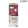 สายชาร์จ iPhone 4G / 4S / iPad (สายแบน) Commy