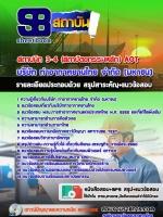 แนวข้อสอบ สถาปนิก 3-4 (สถาปัตยกรรมหลัก) AOT