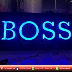 BOSS งานป้าย LED Neon Flex สีสันสดใส หลายหลายสไตล์