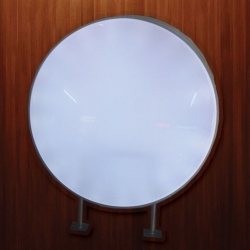 ตู้ไฟปั๊มนูนวงกลม เส้นผ่าศูนย์กลาง 63 cm (ราคารวม สติ๊กเกอร์)
