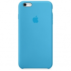 เคสซิลิโคน iPhone 6 / 6s - สีฟ้า ( Original )