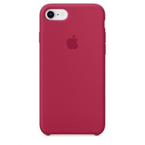 เคสซิลิโคน iPhone 7P / 8P สีแดงเลือดหมู ( Original )