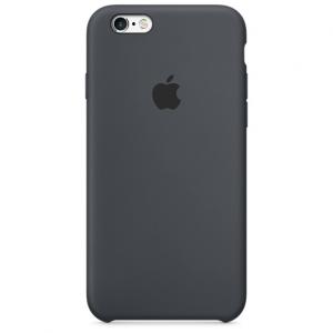 เคสซิลิโคน iPhone 6 Plus / 6s Plus - สีเทาชาร์โคล ( Original )