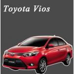 พรมไวนิลดักฝุ่น Toyota Vios