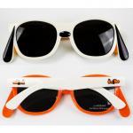 [ด๊อกกี้ส้มขาว] แว่นกันแดดซิลิโคนสำหรับเด็ก