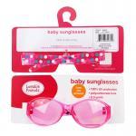 [สีชมพูลายจุด] แว่นกันแดดสำหรับเด็ก Luvable Friends UV Protection