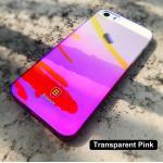Baseus Ultra Slim Gradient Color iPhone 5 5S SE สีชมพู