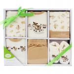 [สีครีม] กล่องของขวัญเซต 6 ชิ้น Luvable Friends