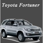 พรมไวนิลดักฝุ่น Toyota Fortuner