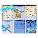 [สีฟ้า] กล่องของขวัญเซต 6 ชิ้น Luvable Friends