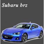 พรมไวนิลดักฝุ่น Subaru Brz