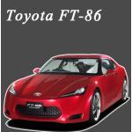 พรมไวนิลดักฝุ่น Toyota FT-86