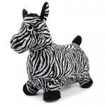 [ม้าลาย] ม้าเด้งดึ๋งหุ้มผ้าขนสัตว์