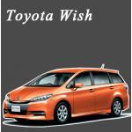 พรมไวนิลดักฝุ่น Toyota Wish