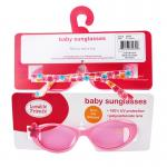 [ลายดอกไม้] แว่นกันแดดสำหรับเด็ก Luvable Friends UV Protection