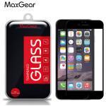 ฟิล์มกระจก iPhone 6 6S เต็มจอ MAXGEAR สีดำ
