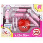 [ชมพู] ชุดหมอฟัน Dental Clinic
