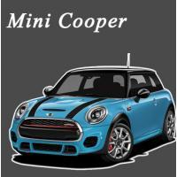 พรมไวนิลดักฝุ่น Mini Cooper