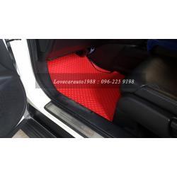 พรมรถยนต์ Honda CRV-G4 ดุมเล็กแดงขอบดำ