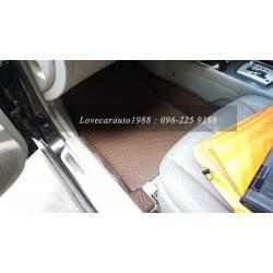 พรมรถยนต์ Hyundai Sonata จิ๊กซอร์สีน้ำตาล