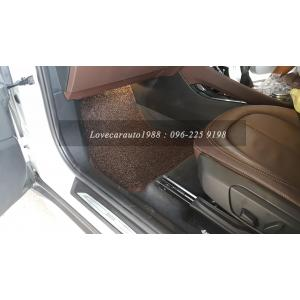 พรมดักฝุ่น BMW X1 ไวนิลสีน้ำตาล