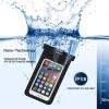 TURATA ซองกันน้ำมือถือ หน้าจอ 3.5-6'' Waterproof (Black)