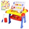 ชุดโต๊ะกระดานแม่เหล็ก+พร้อมไวท์บอร์ด 3in1 Magnetic Learning Table