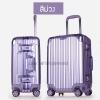 กระเป๋าเดินทาง ขนาด 20 นิ้ว - สีม่วง