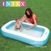 Intex สระน้ำเป่าลมทรงสี่เหลี่ยมผืนผ้า สีฟ้า [Intex-57403]