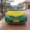 แท็กซี่มือสอง Altis E เกียร์ AUTO เครื่อง CNG หัวฉีดติดจากศูนย์ ปี 2013