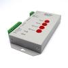 Controller RGB ตัวเล็กสีขาว คุมได้ 2000 โมดุล เขียนโปรแกรมไฟ สำหรับงานป้าย