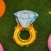 ลูกโป่งฟอร์ยรูปแหวน ขนาด 7x12 นิ้ว