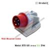 ปลั๊กตัวผู้ติดลอย HTB 525 (3P+N+E) 32A,380-415V ~,IP44 ,DAKO