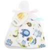 [ลายสัตว์ป่า] เซตหมวกพร้อมถุงมือ Carter's Baby Towel