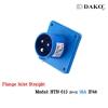 ปลั๊กตัวผู้ติดผนังฝังตรง HTN 613 (3P) 16A ,220-250V ~, IP44 ,DAKO
