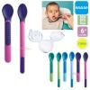 ชุดช้อนป้อนอาหารเด็กพร้อมฝาปิด MAM Heat Sensitive Spoons&Cover [6เดือนขึ้นไป]