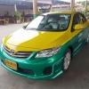แท็กซี่มือสองครับ Altis J รถเขียวเหลืองแท้เกียร์ธรรมดา NGV ปี 2557 เหลือวิ่ง 6 ปี 3 เดือน