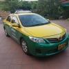 แท็กซี่มือสอง Altis J ปี 2012 cng