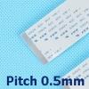 สายแพร 50 Pins Pitch 0.5mm Length 20cm Flat Cable