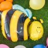 ลูกโป่งฟอร์ยรูปผึ้ง ขนาด 65x78 Cm.