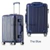 กระเป๋าเดินทาง ขนาด 24 นิ้ว - สีน้ำเงิน