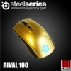 เม้าส์ MOUSE STEELSERIES RIVAL 100 (ALCHEMY GOLD)