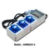 A06MA01-4 กล่องกระจายไฟเพาเวอร์ปลั๊ก 2P+E,16A,230V, IP44