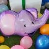 ลูกโป่งฟอร์ยรูปหัวช้าง ขนาด 62x98 cm.