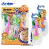 แปรงสีฟันสำหรับเด็กอายุ 0-2 ปี (Step 1) Jordan [แพคคู่]