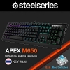 คีย์บอร์ด KEYBOARD STEELSERIES APEX M650 BLUE SWITCH (THAI)