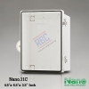 """ตู้พลาสติก ฝาใส ( NANO11C ) 4.5x6.5x3.5"""""""