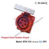 เต้ารับฝังเฉียงกันน้ำ HTN 3151 , (3P+N+E) 16A, 380-415V ~ ,IP67