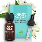 360 natural whitening toner 360 เนเชอรัล ไวท์เทนนิ่ง โทนเนอร์ รักษาฝ้ากระ เห็นผล 7-14 วัน
