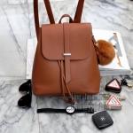 กระเป๋าเป้!!! ทรงน่ารักมากๆๆๆ จากแบรนด์ KEEP สี :: classy black // classic brown